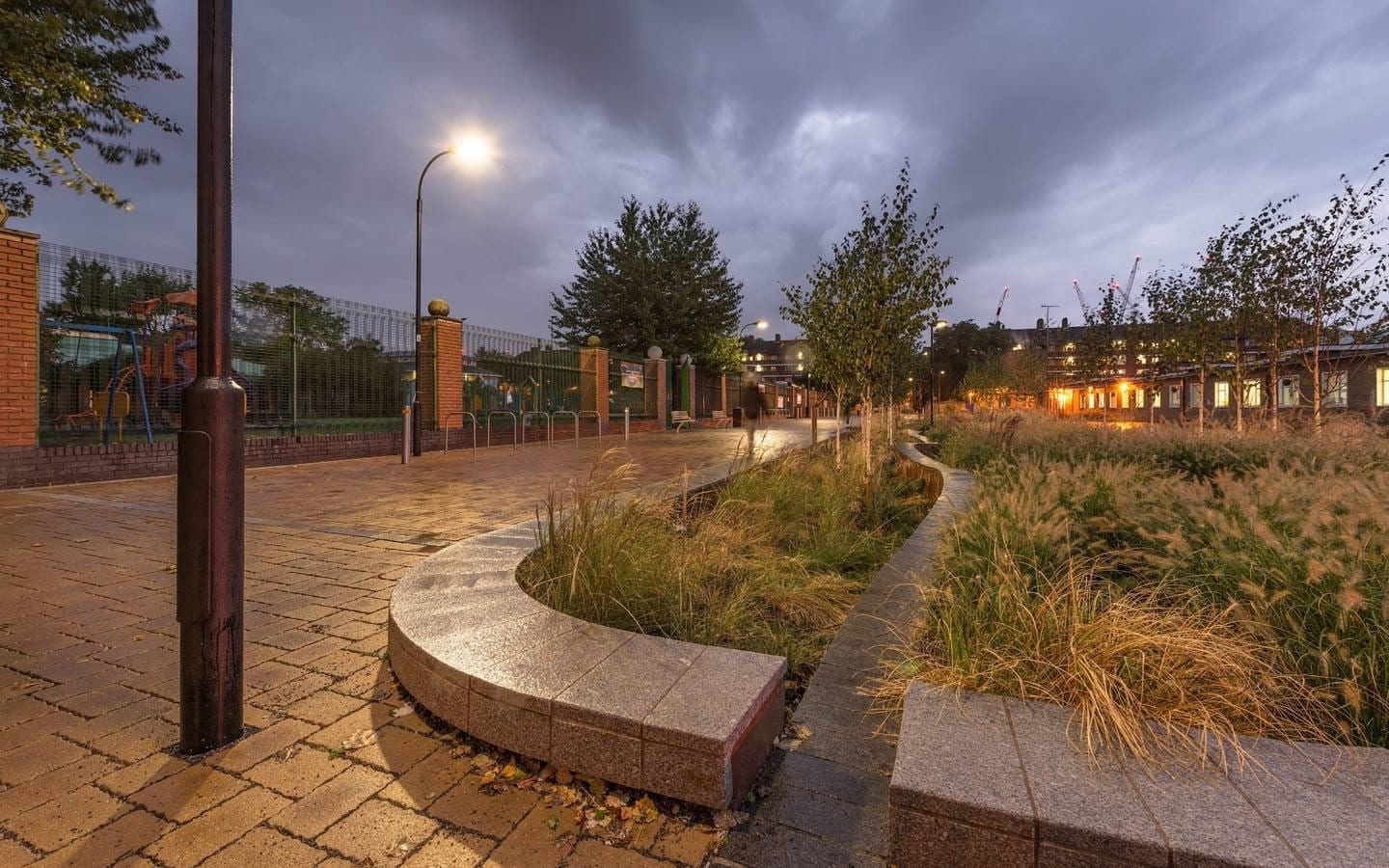 SuDS feature case study image
